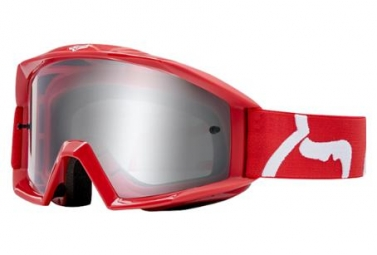 Masque fox youth main goggle race rouge