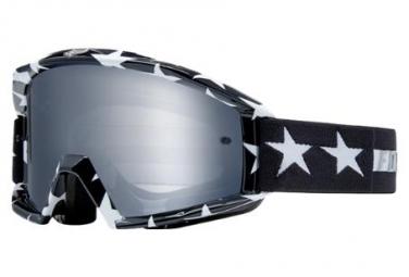 Fox Main Goggle - Streifen Schwarz / Weiß