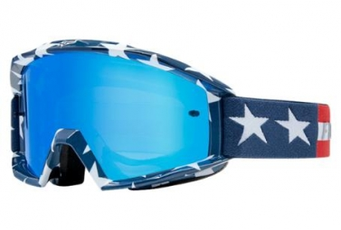 Máscara Fox Main Goggle - Stripe blue white