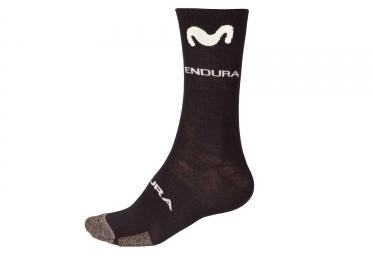 Endura Movistar Team 2018 Winter Socks Black