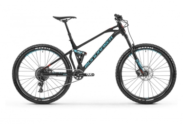 Mondraker Full Suspension MTB Foxy 27'5 Sram NX1 11s Black / Light Blue 2019