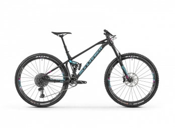 Mondraker Full Suspension MTB Foxy XR Sram GX Eagle 12s 29'' Black / Light Blue 2019