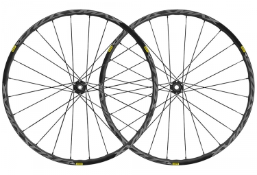 Mavic Crossmax Elite Wheelset 2019 29'' | 15/9x100mm - 12x142mm / 9x135mm | 6 Bolts | Black