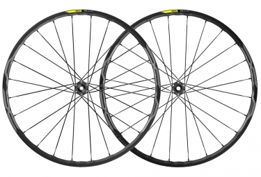 Mavic XA Elite Wheelset 2019 29'' | 15/9x100mm - 12x142mm / 9x135mm | 6 Bolts | Black