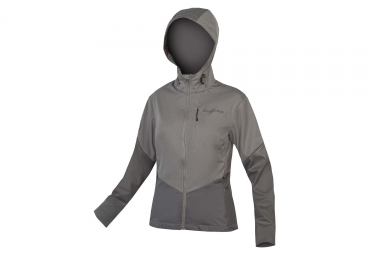 Endura Singletrack Ii Women Windbreaker Jacket Grey Xs