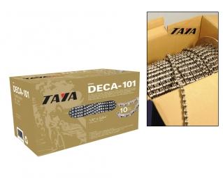 Chaîne Taya Deca-101 10v 30 Mètres Argent / Noir