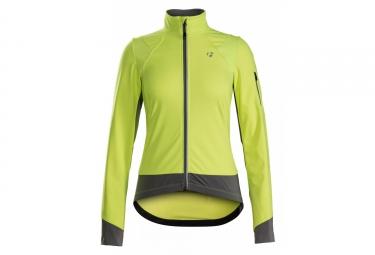 Women Jacket Bontrager Meraj S1 Softshell Yellow High Visibility
