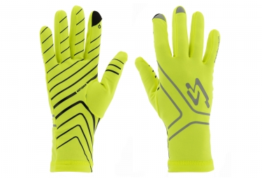 Spiuk XP Thermic Long Gloves Neon Yellow