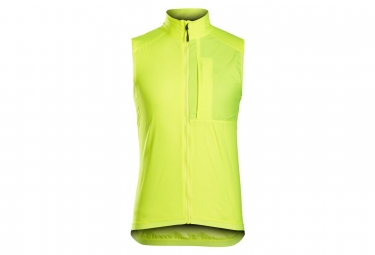 Bontrager Circuit Windshell Ciclismo Chaleco Amarillo Alta Visibilidad