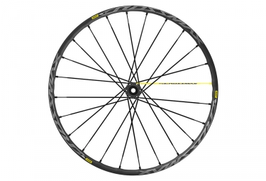 Roue avant 2019 mavic crossmax pro 27 5 boost 15x110mm 6 trous noir