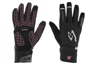 Guantes SPIUK XP M2V Light 2018 Negro / Fucsia