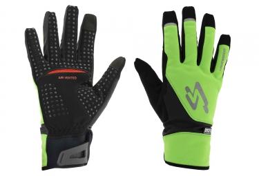 SPIUK Gloves XP M2V Light 2018 Neon Green/Black