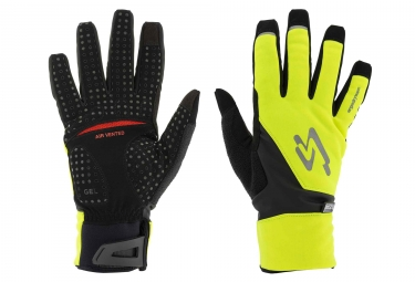 Spiuk XP M2V Winter Gloves Neon Yellow/Black