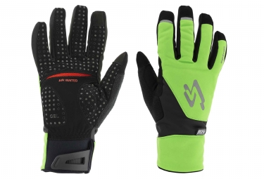 Spiuk XP M2V Winter Gloves Neon Green/Black