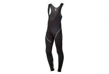 Spiuk Race Long Tights Black Neon Green