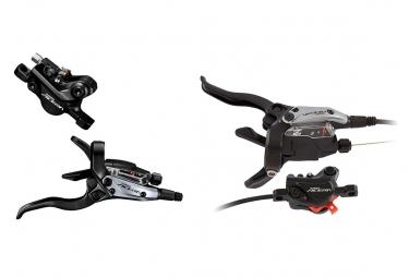 Pair of Brake Shimano M3050 Acera 1000mm and 1700mm BH59 Grey