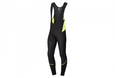 Spiuk Team Long Tights Black Neon Yellow