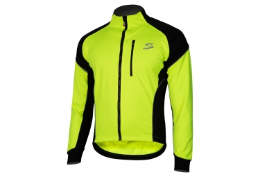 Spiuk Team Thermal Jacket Neon Yellow Black