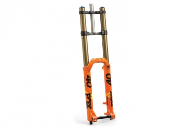 Fourche fox racing shox 40 float factory 27 5 grip 2 hi low 20x110mm offset 52 orange 2019 203