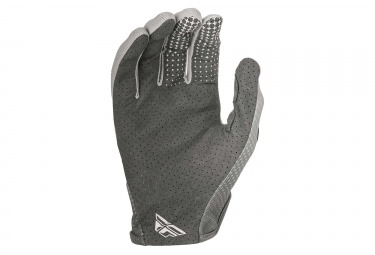Gants Longs Fly Racing Lite Gris/Rouge