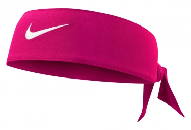 Bandeau nike dri fit head tie 2 0 rose