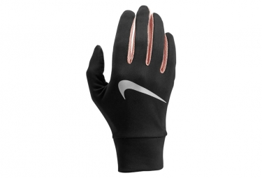 Gants Hiver Femme Nike Lightweight Tech Run Noir Rose