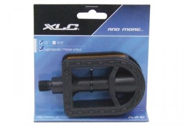 XLC 1/2'' Kids Pedals Plastic Black