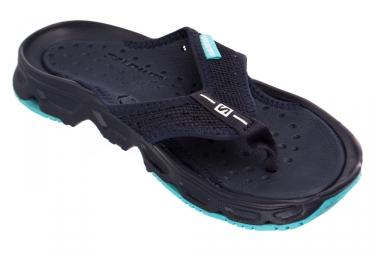 Chaussures de recuperation salomon rx break noir bleu 44