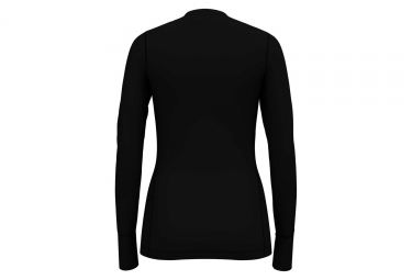 Maillot Manches Longues Femme Odlo Natural 100% Merino Warm Noir