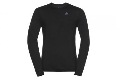 T-shirt Manches Longues Odlo NATURAL 100% MERINO Gris melange