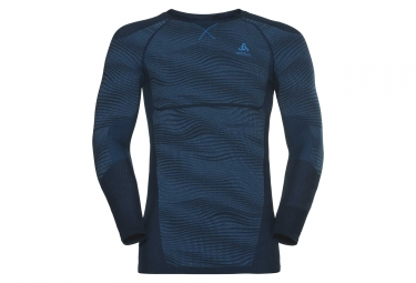 Odlo Blackcomb poseidon Long Sleeves Blue