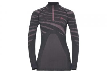Odlo PERFORMANCE odyssey Long Sleeves T-shirt Gray Rose