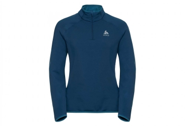Odlo CARVE WARM Mid Layer Blue