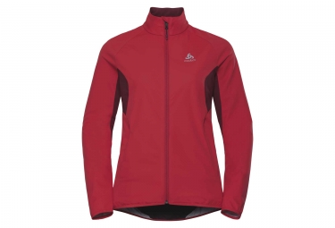 Odlo AEOLUS ELEMENT WARM Jacket Red