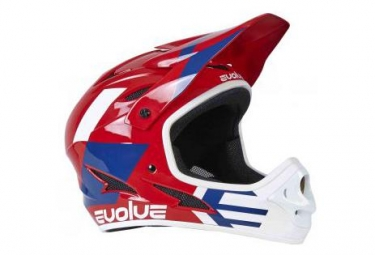 Casque integral evolve storm rouge kid m 51 52cm