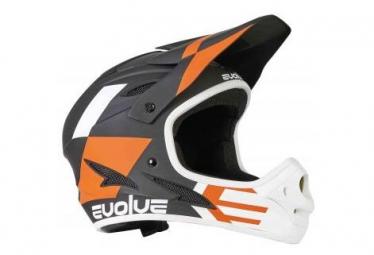 Evolve Integral Helmet Storm Black / Orange