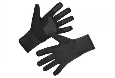 Gants Longs Imperméables Endura Pro SL Primaloft Noir
