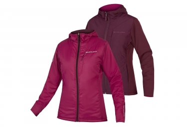Endura Urban PrimaLoft II Women Reversible Thermal Jacket Mulberry