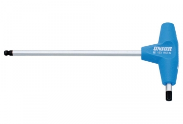 UNIOR Ball end hexagonal screwdriver with T handle