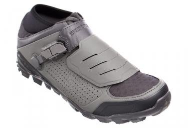 Paire de chaussures vtt shimano me7 gris 42