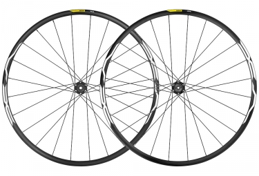 Mavic XA Wheelset 27.5'' 2019 | 15/9x100mm - 12x142mm / 9x135mm | 6 Bolts | Black
