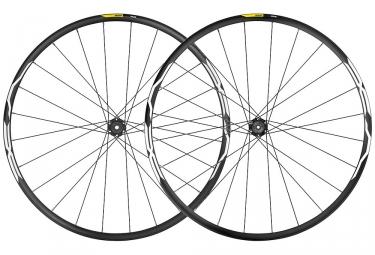 Juego de ruedas Mavic XA 29 '' 2019 | 15 / 9x100mm - 12x142mm / 9x135mm | 6 tornillos | Negro