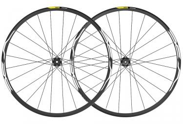 Paire de roues 2019 mavic xa 35 27 5 boost 15x110mm 12x148mm 6 trous noir shimano sr