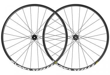 Mavic Crossmax Wheelset 27.5'' 2019 | 15/9x100mm - 12x142mm / 9x135mm | 6 Bolts | Black