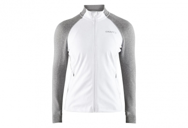 Craft Urban Run Fuseknit Women's Jacket White Grey