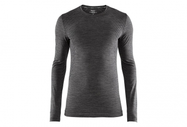 Maillot Manches Longues Craft Fuseknit Comfort Noir