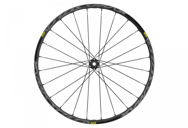 Roue avant 2019 mavic crossmax elite 29 15 9x100mm 6 trous noir