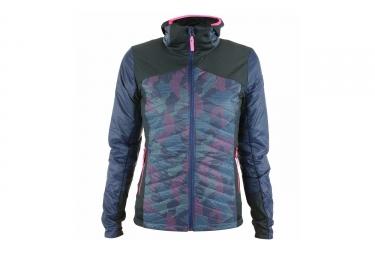 Femme Eider Sweat mix Jacket Blue