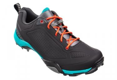 Paire de chaussures femmes vtt shimano mt300 d noir vert 41