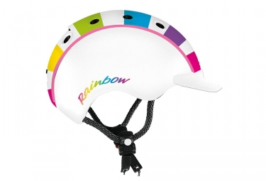 Kid Helmet Casco 2018 Mini 2 Rainbow White